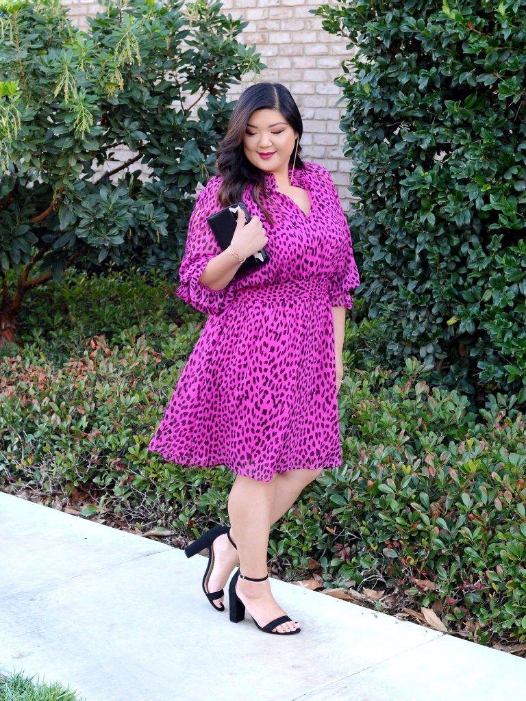 Curvy Girl Chic Plus Size Fashion Blog Rachel Roy Curvy Hot Pink ...