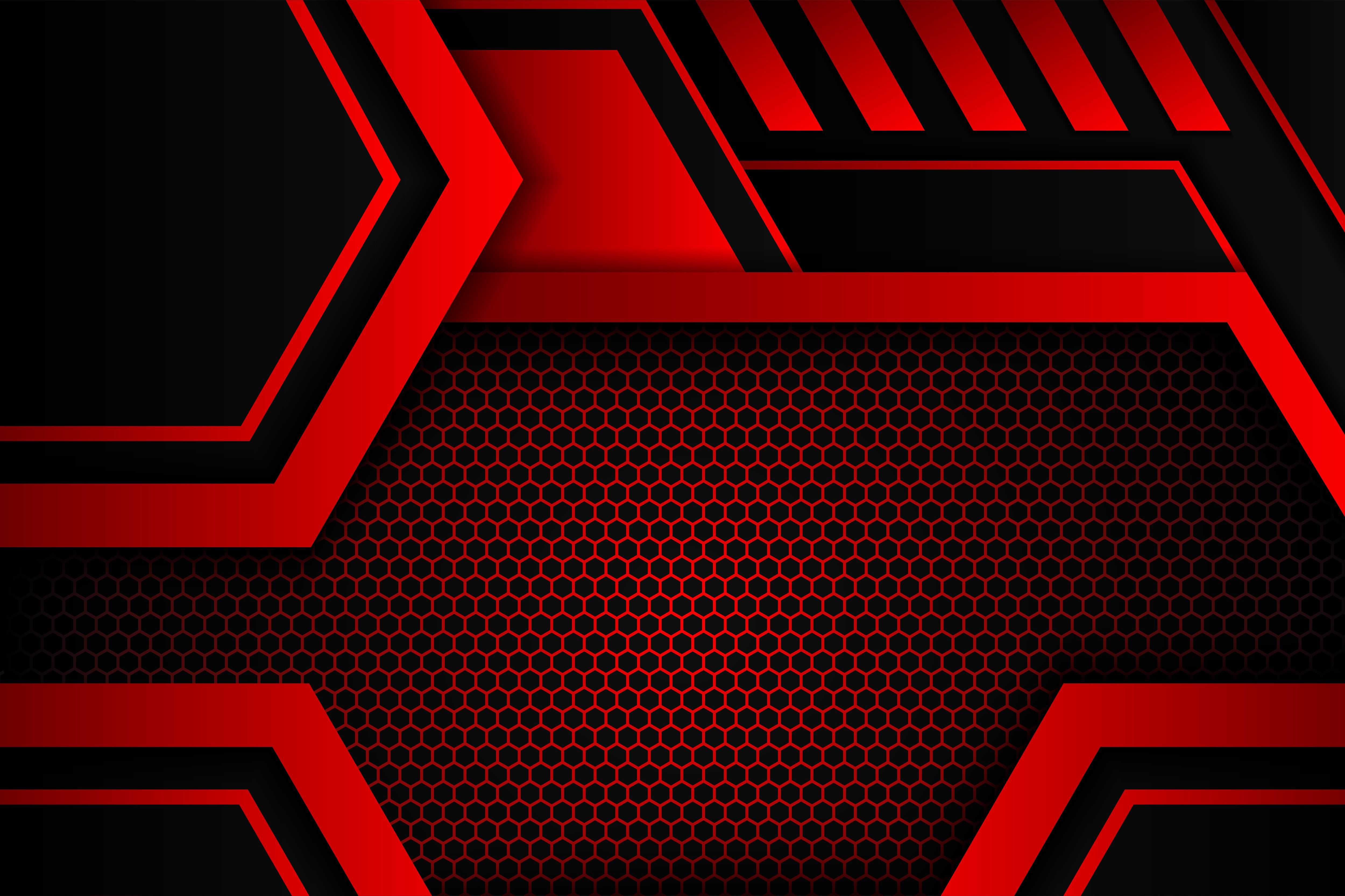 Geometric Red Background Black Graphic By Noory Shopper Creative Fabrica Red Background Dark Red Background Geometric Background