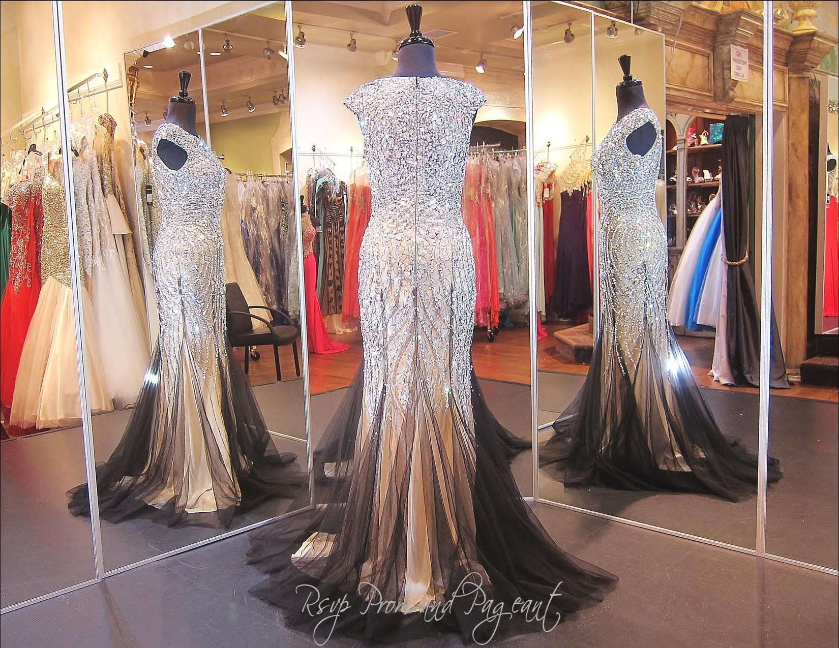 Classy Black-Nude Mermaid Prom Dress 115EC0150050845 This would be ...
