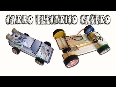 Como Hacer Un Carro A Motor Electrico Casero Delorean Casero
