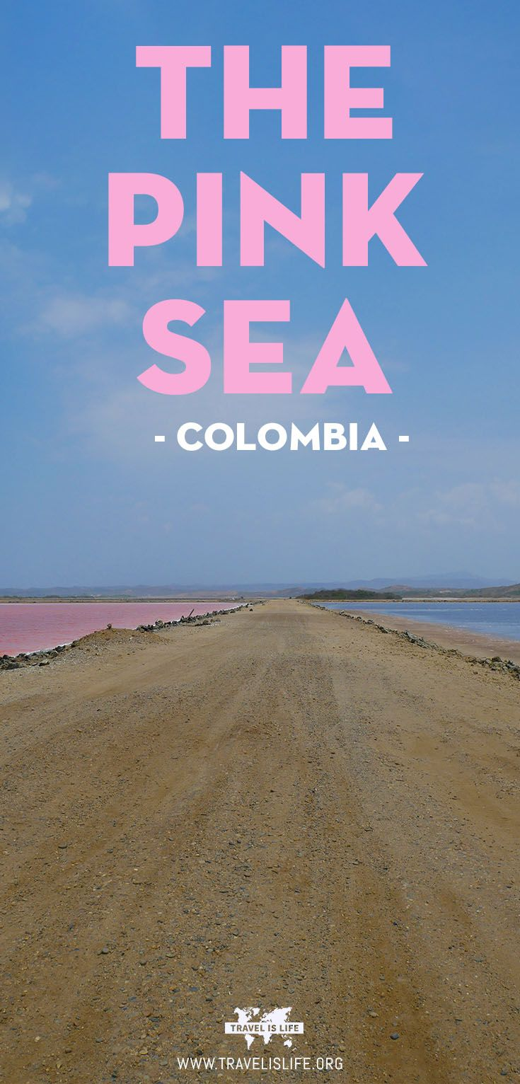 Travel Colombia: The Pink Sea of Colombia (El Salar de Galerazamba).  Join me at El Salar de Galerazamba...
