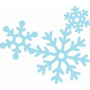 Silhouette Design Store - View Design #67952: snowflake cluster