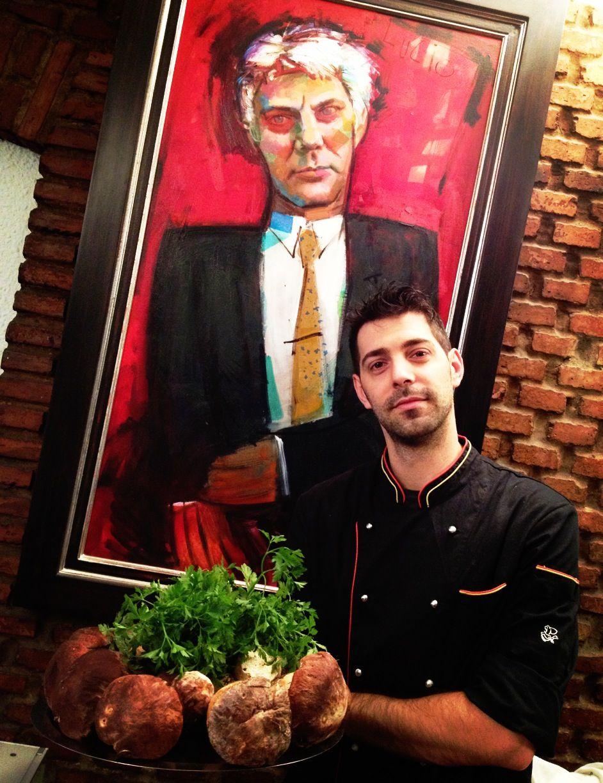 Borja Pastor y sus Boletus Edulis...  www.restaurantecasalucio.com