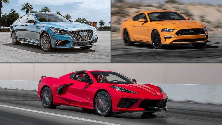 10 Cheapest V 8 Cars For 2020 Corvette Price Pony Car Corvette Stingray