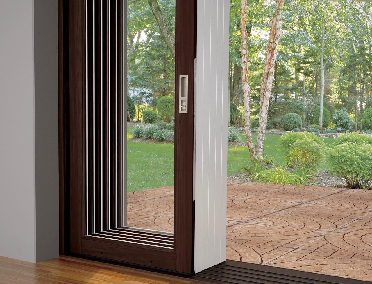 Marvin Offers Three Basic Options The Ultimate Multi Slide Door The Ultimate Lift And Slide Door And The Sliding Glass Door Bifold Doors Architecture Design