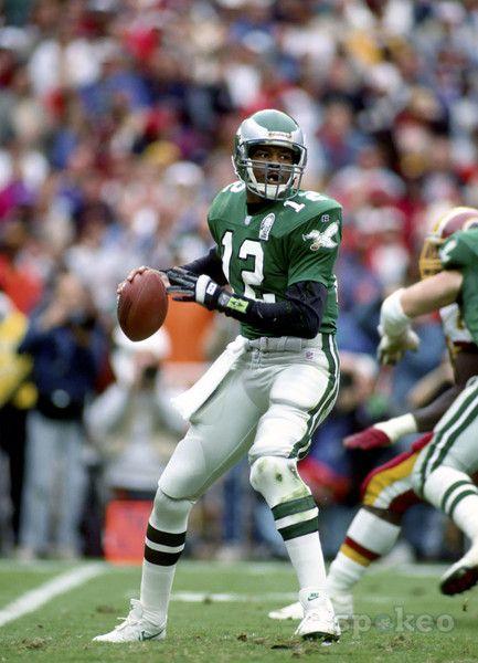 c19c79e5 Randall Cunningham # 12 Philadelphia Eagles QB College:UNLV | Sports ...