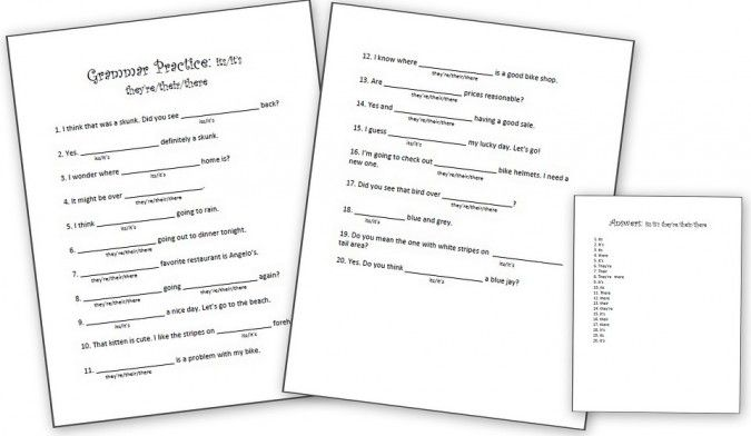 Printables Grammar Worksheets Middle School printables free grammar worksheets for middle school handouts 1000 images about student