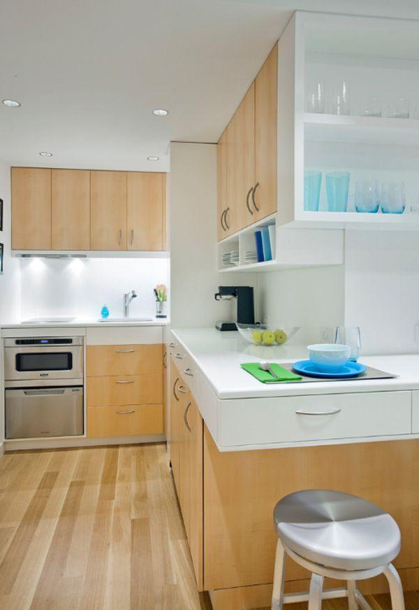 Incredible 340 square foot micro apartment in manhattan - Amueblamiento de cocinas ...