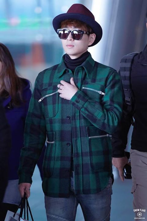 Onew  Airport Fashion 2014