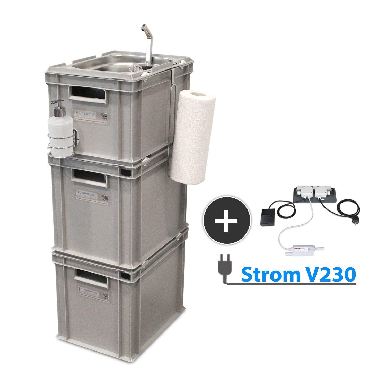 Gut gemocht 230V Betrieb, mobile Wasserversorgung   Selbstausbau reisemobil JJ55