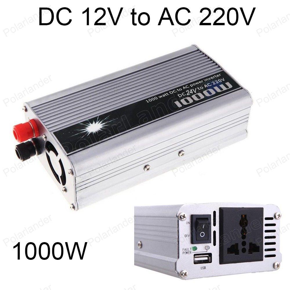 Modified sine wave 1000W DC 24V to AC 220V Switch Power Supply USB