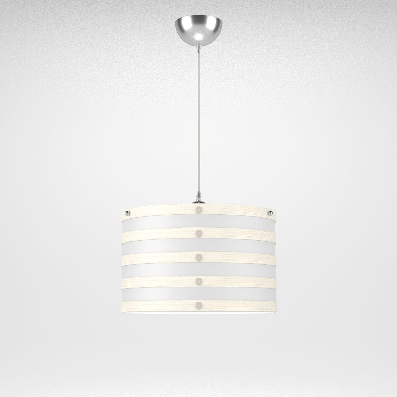 Φωτιστικό Οροφής Milan White Med-10130 L345