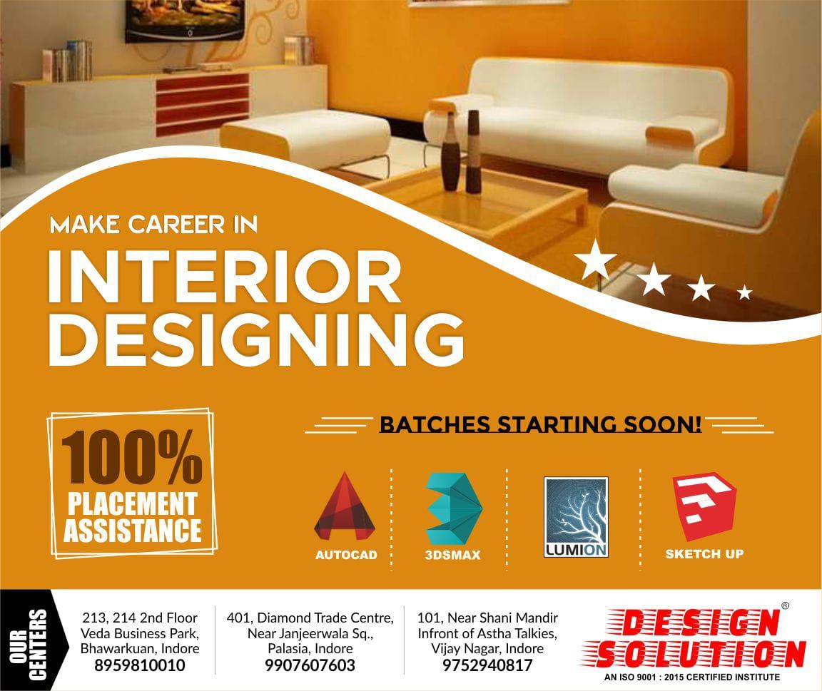Become Interior Designer Design Solution Offers Degree Diploma
