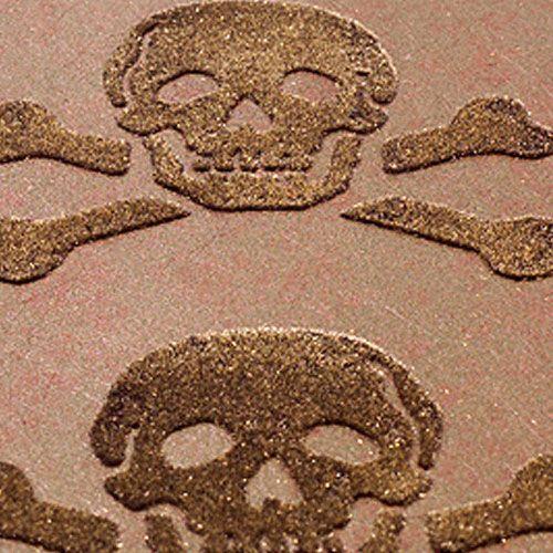 skulls wallpaper bronze on bronze
