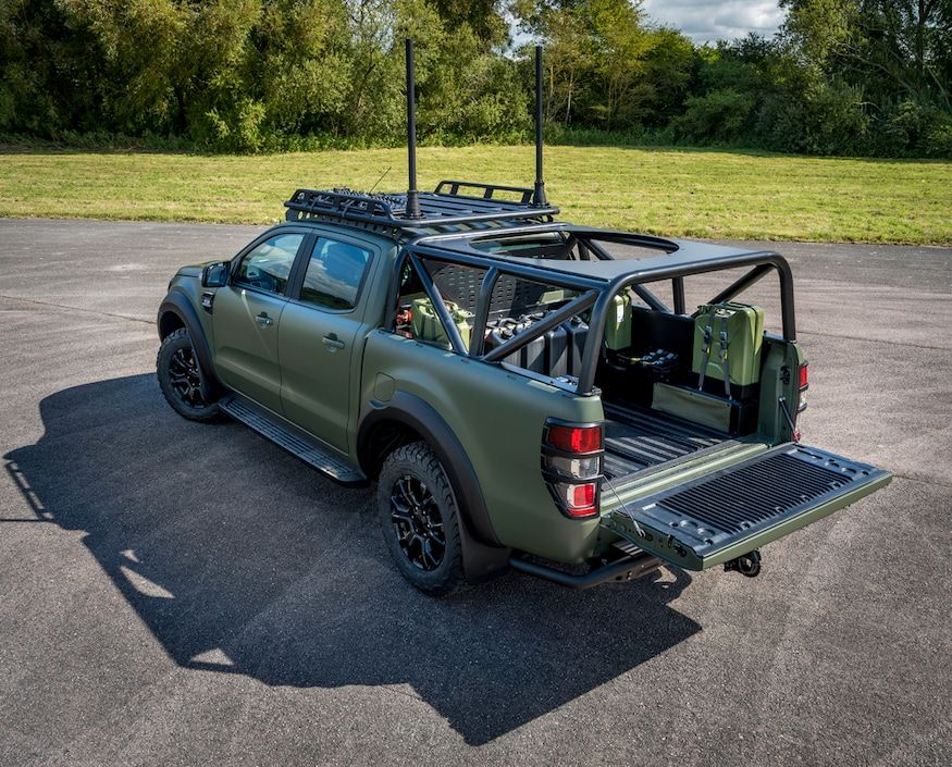 Military Spec Ford Ranger Reporting For Duty Sir In 2020 2019