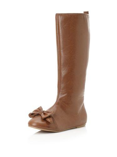 40% OFF Joyfolie Kid's Maci Knee Boot (Brown)