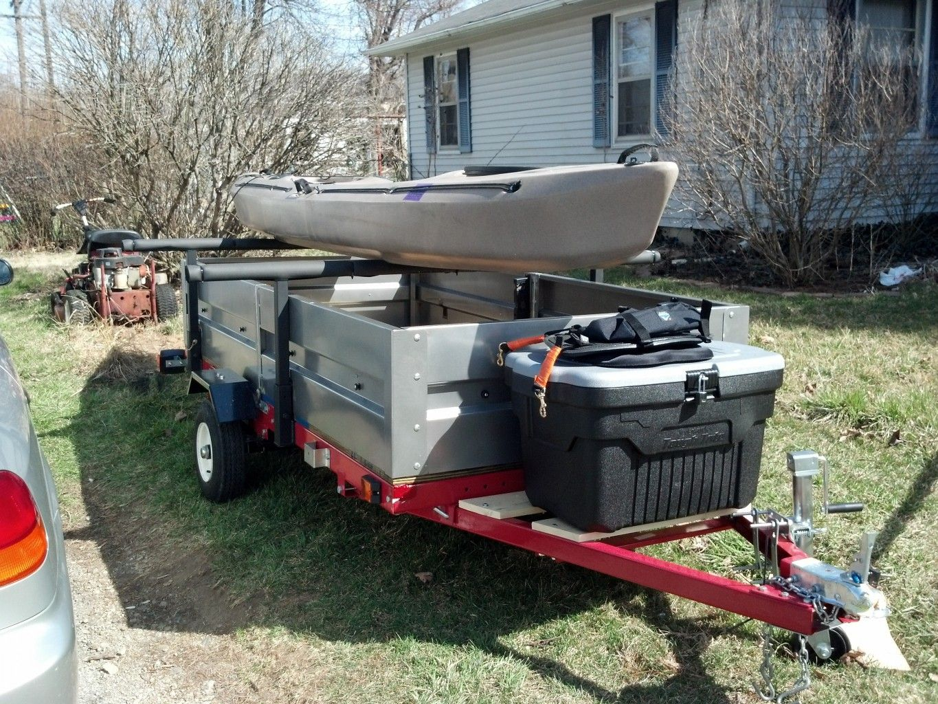 Hacking A Harbor Freight Trailer Kit Kayak Edition Kayak