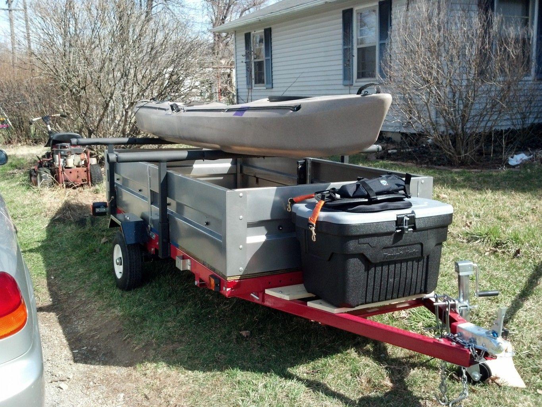 harbor freight trailer kit kayak edition