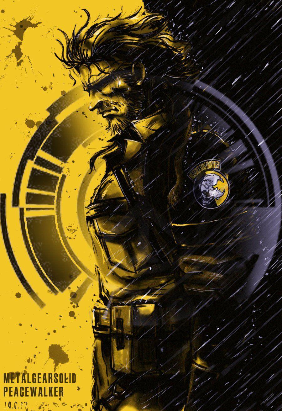 Mgs Peace Walker By Niceler Deviantart Com On Deviantart Metal Gear Solid Metal Gear Metal Gear Rising