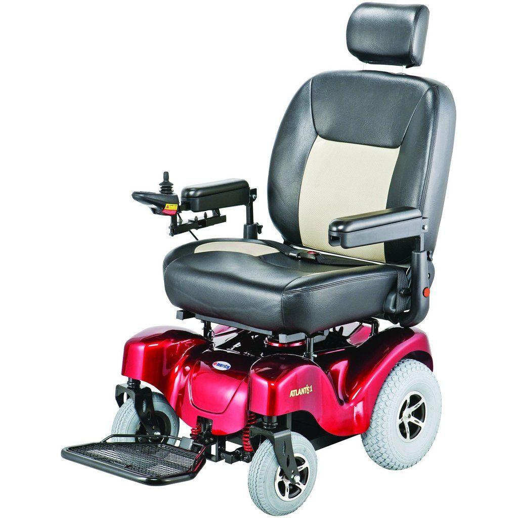 Merits P710 Atlantis Heavy Duty Electric Power Wheelchair
