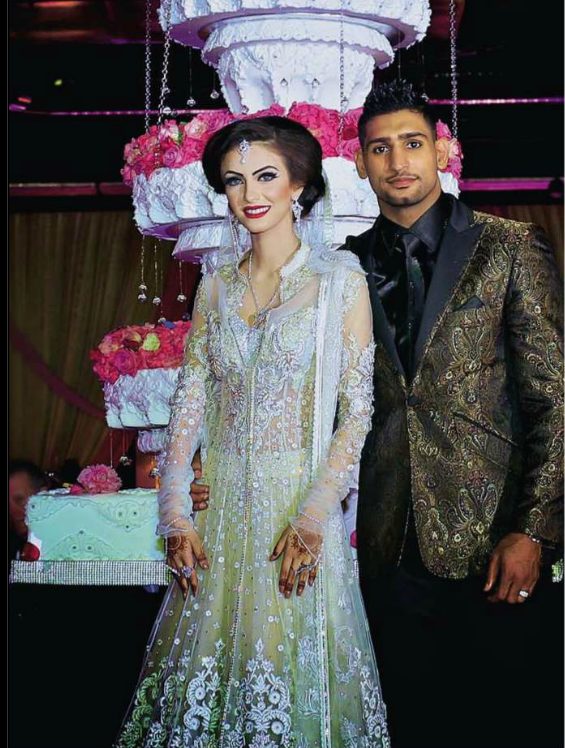 Just 4 Info Amir Khan And Faryal Makhdoom Walima Pictures