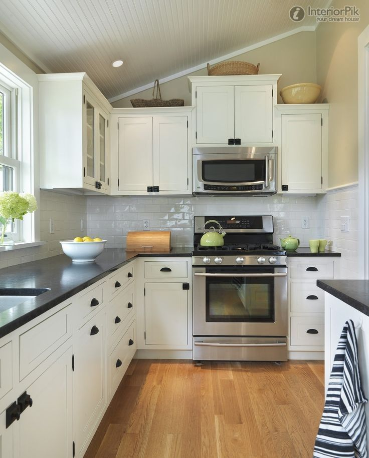 43 brilliant l shaped kitchen designs 2020 a review on kitchen trends black kitchen on l kitchen remodel id=61142
