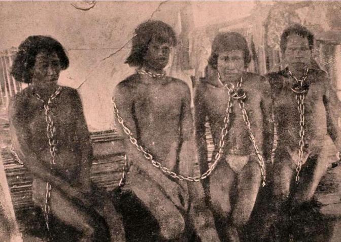 esclavitud de indigenas susamericanos  DDHH 2  Derechos Humanos