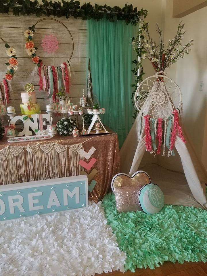 Dream Catcher Birthday Party Ideas | Photo 8 of 23 | Catch My Party