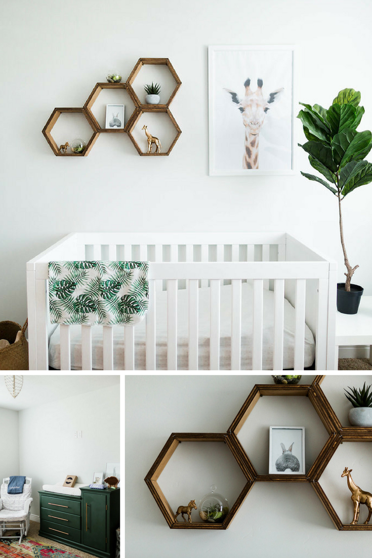 Gender Neutral Nursery After posting a few pics on Instagram of the nursery we put together for the new babe, I got tons of