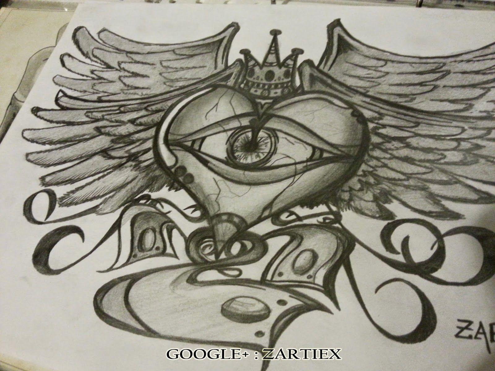 Tatuajes de corazones  Dibujos de corazones  Dibujos corazon