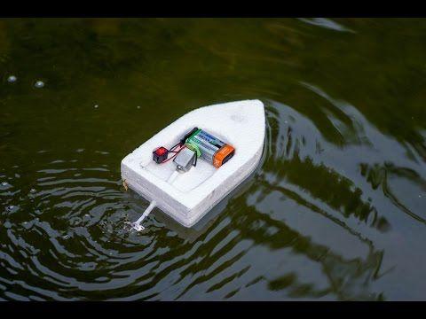 Making dc motor boat