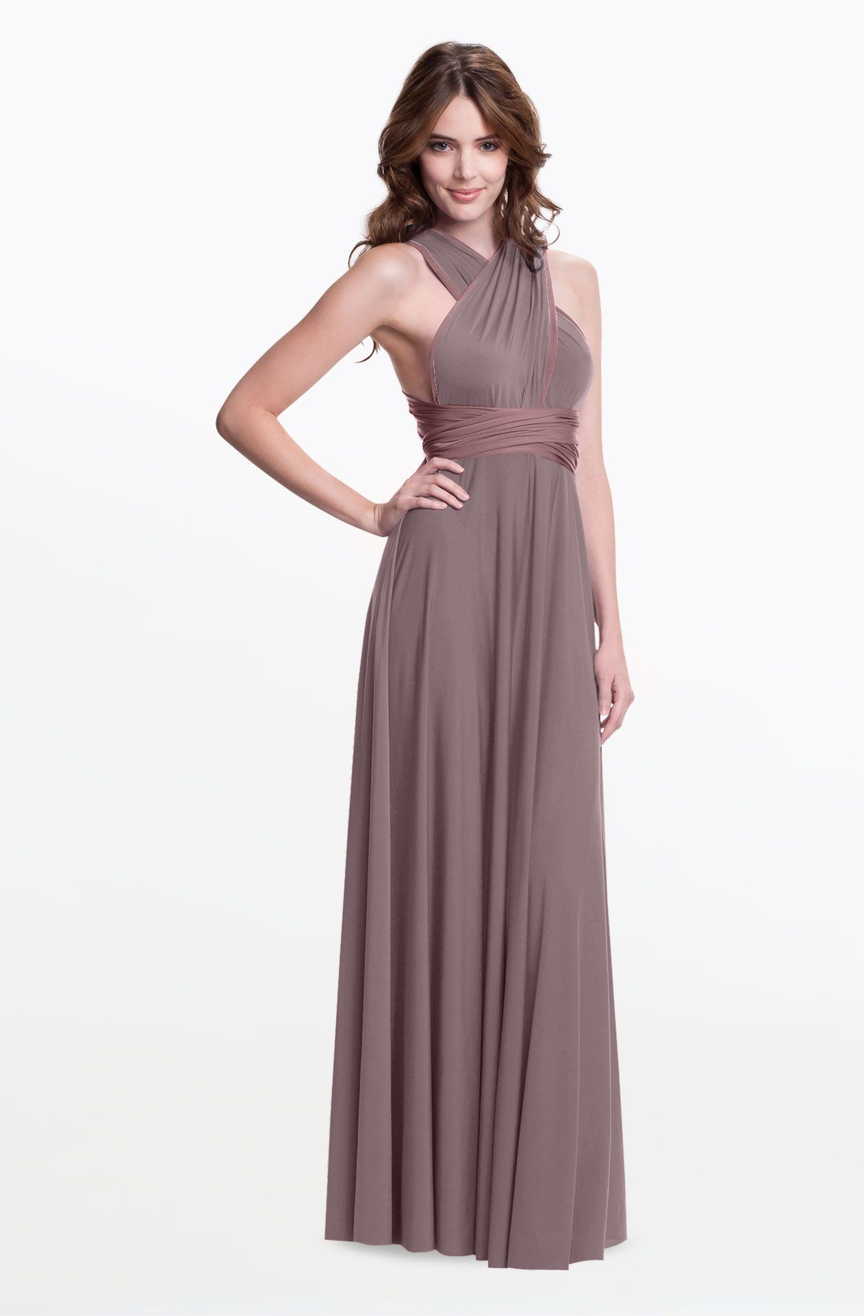 Reversible sakura maxi convertible dress gowns and weddings this reversible convertible dress can be styled in over 100 variations its a great option ombrellifo Image collections