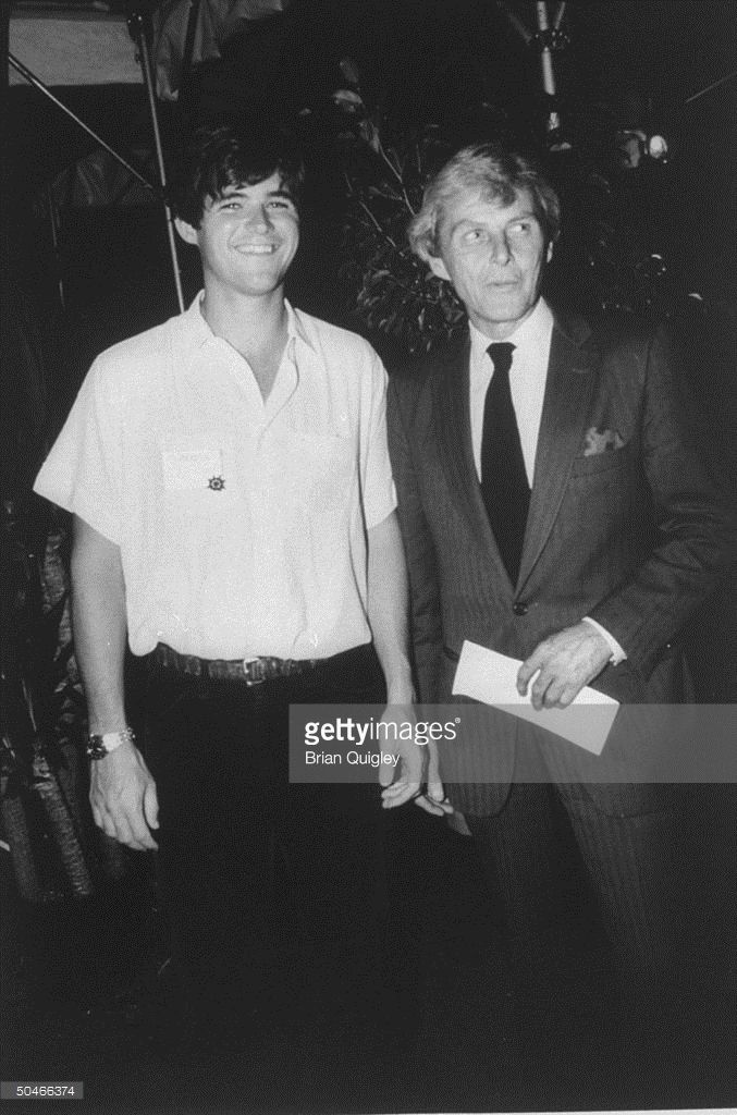 William Kennedy Smith and his father, Stephen Smith.