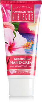 Hawaiian Pink Hibiscus Nourishing Hand Cream Soapsanitizer Bath
