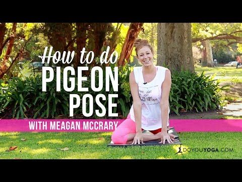 how to do pigeon pose video  pigeon pose poses yoga