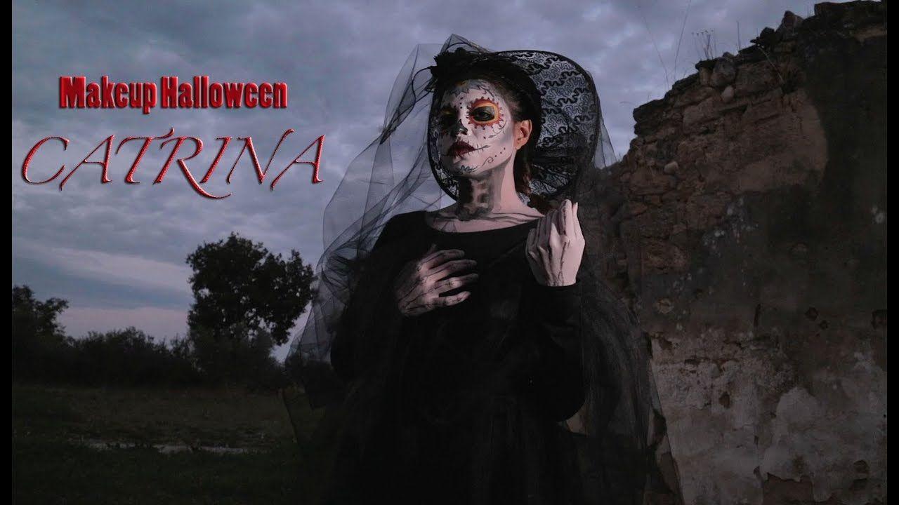 Catrina makeup halloween diademuertos halloween makeup