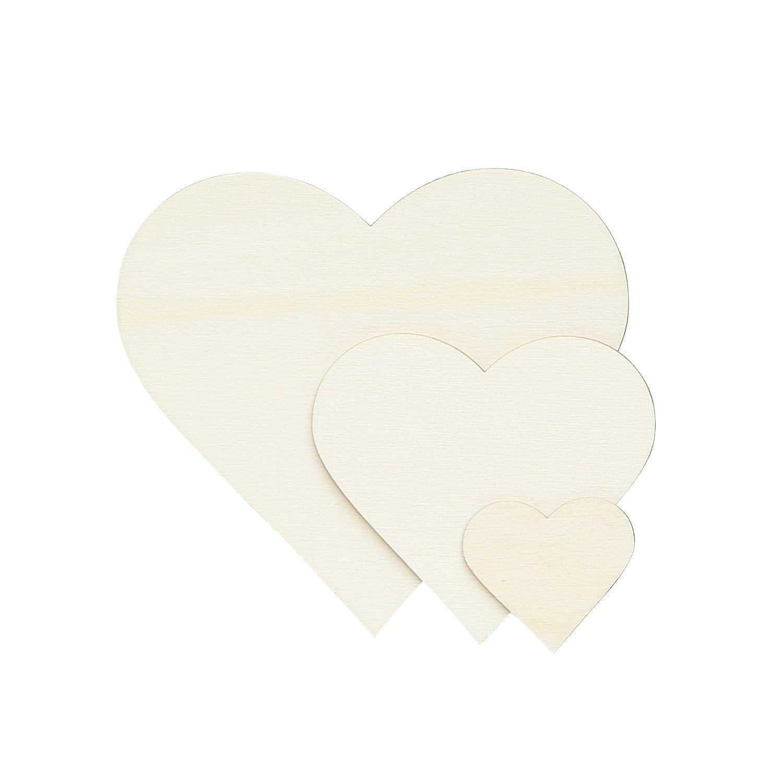 Deko Zuschnitte Größenauswahl Weiße Holz Ostereier
