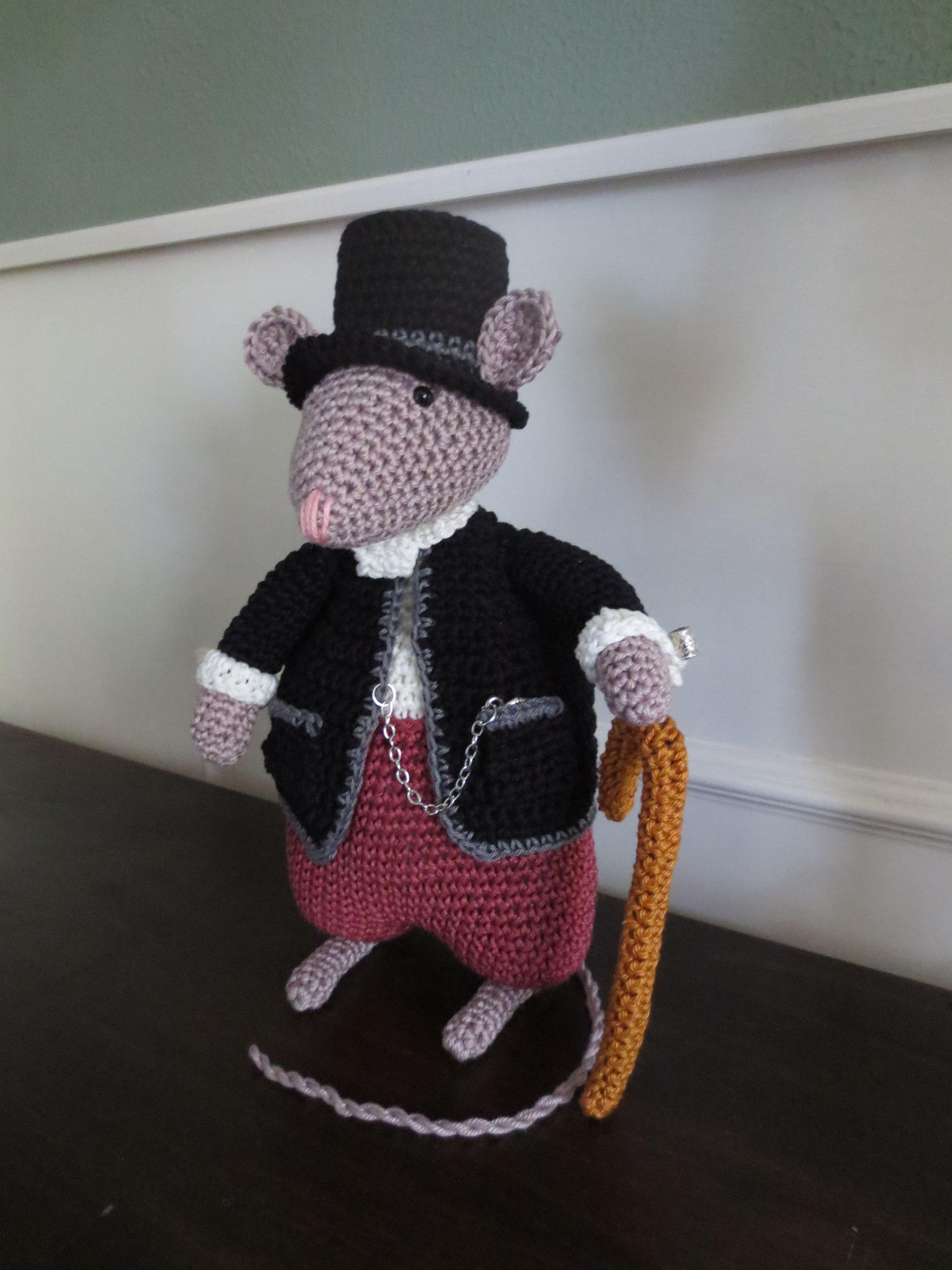 Uit Het Boekje Vestingmuizen Haken Een Heer Van Stand Crochet