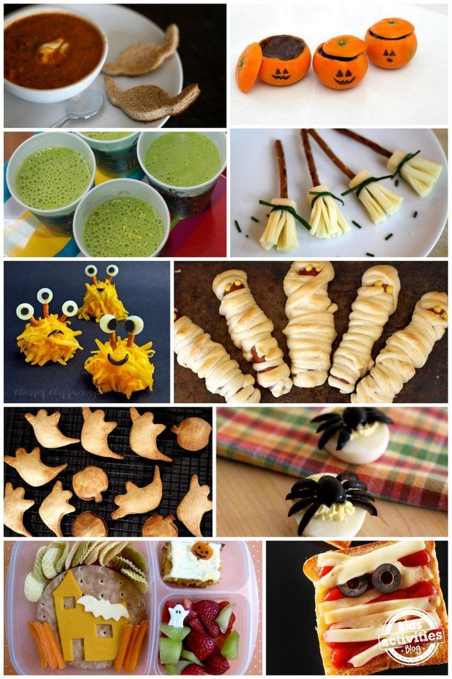 Healthy Halloween Food Ideas for Kids Halloween foods, Healthy - halloween treat ideas for toddlers