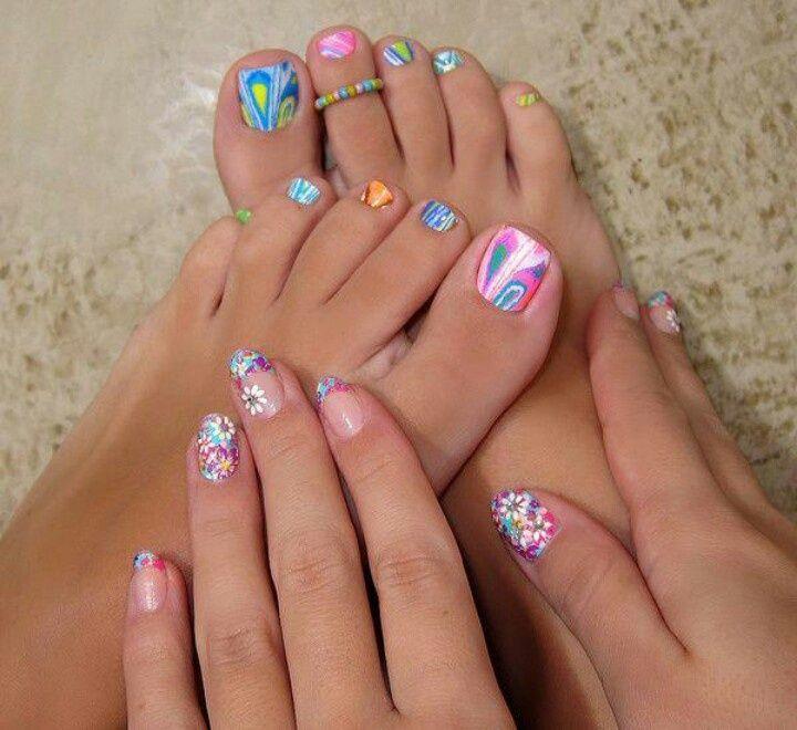 las uñas de los pies también merecen el mismo cuidado que las uñas