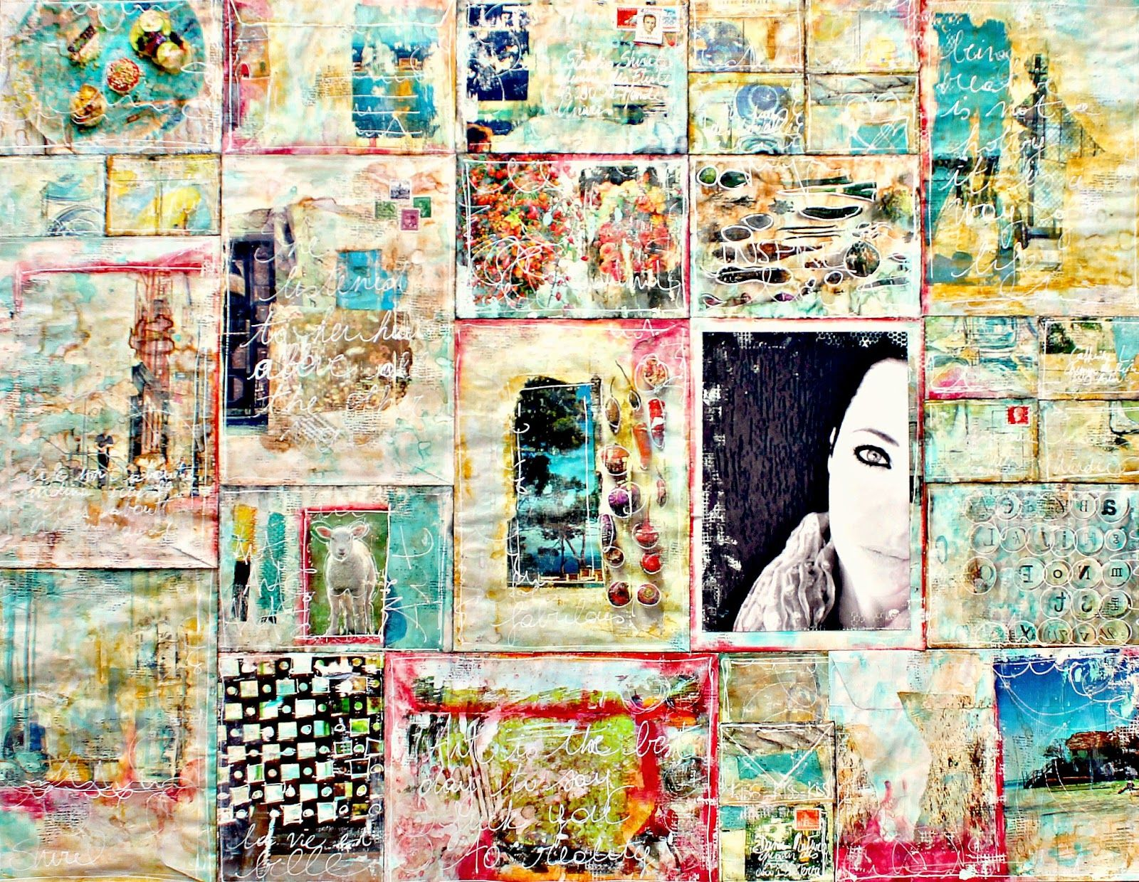 Shirel Studio original Mixed Media