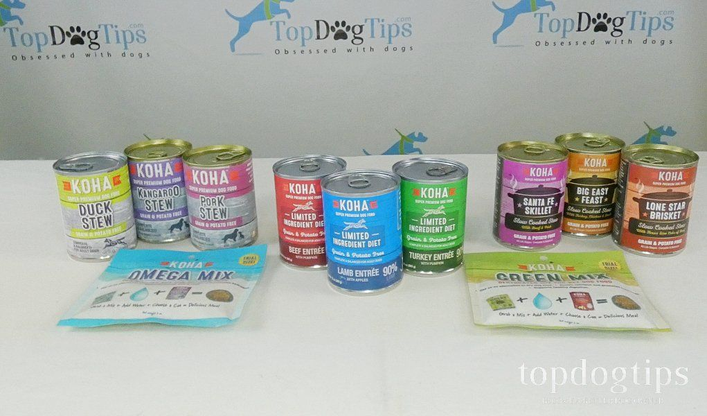 Review KOHA Canned Dog Food & Dehydrated Food Mixes