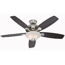 No Need To Pull Strings Hunter 52 Brushed Nickel Ceiling Fan With Light Remote