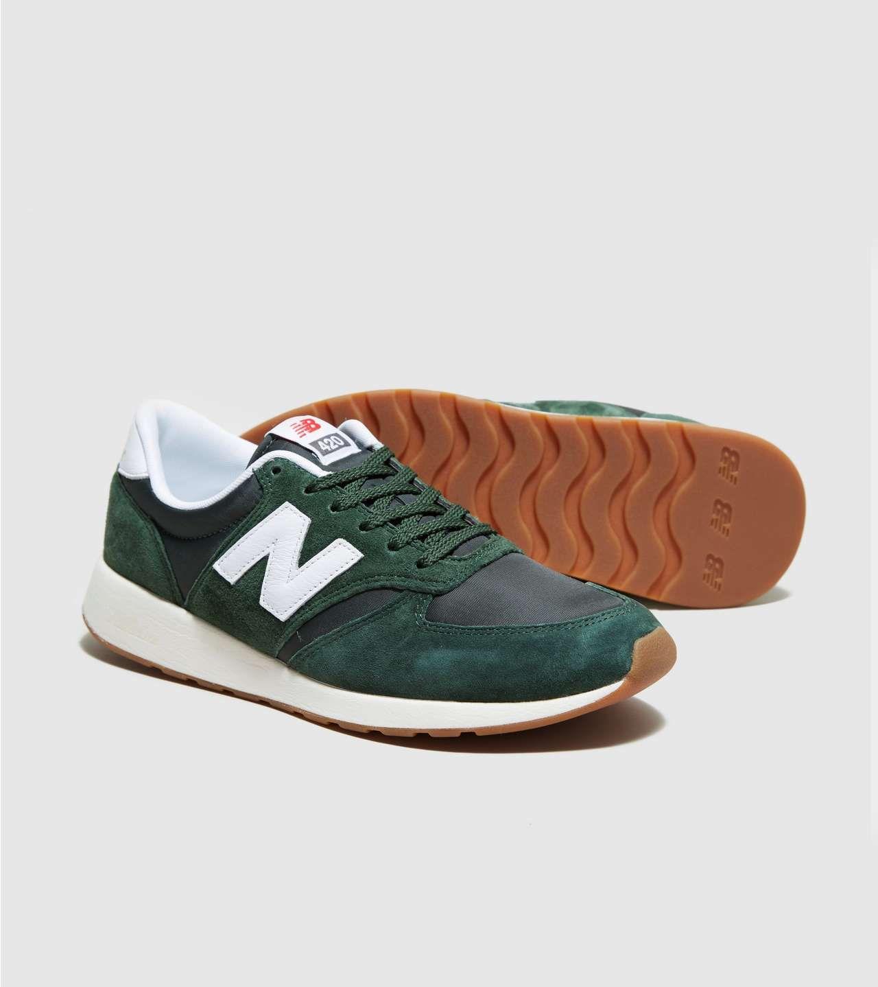 new balance u420 green