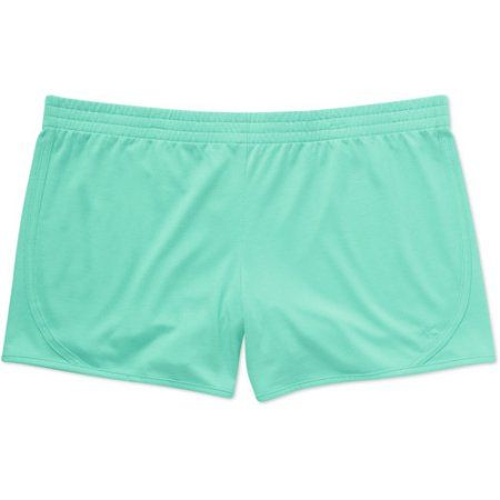 c74a83e46020 Danskin Now Women s Plus-Size Basic Knit Short - Walmart.com