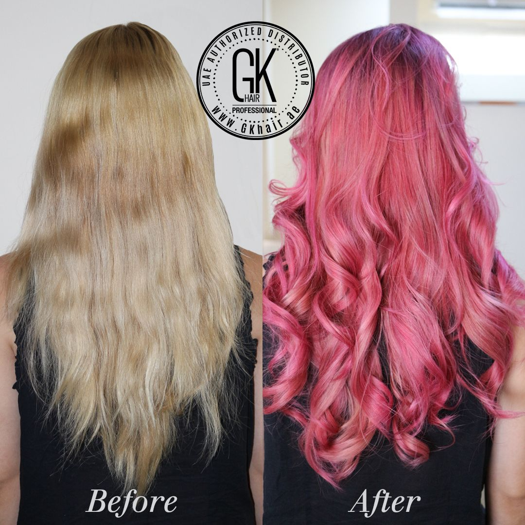Cool Hair Transformation With Gkhair Juvexin Cream Color Red