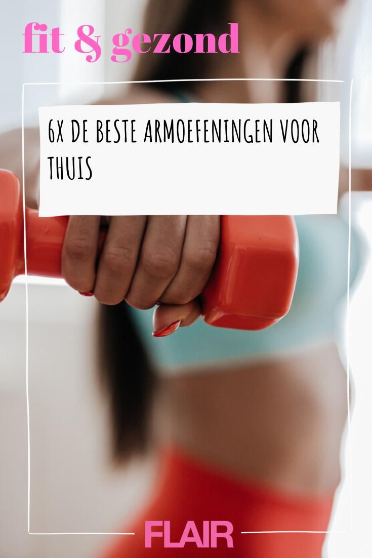 Deze armoefeningen kun je overal uitvoeren. Hallo, slanke armen! #armoefeningen #fitness #trainen #s...
