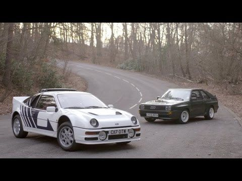 The 1984 86 Ford Rs200 Audi Sport Audi Ford