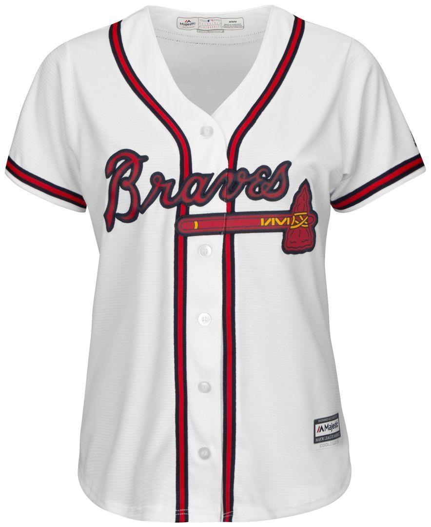 Majestic Women S Atlanta Braves Jersey Braves Jersey Atlanta Braves Jersey Atlanta Braves Outfit