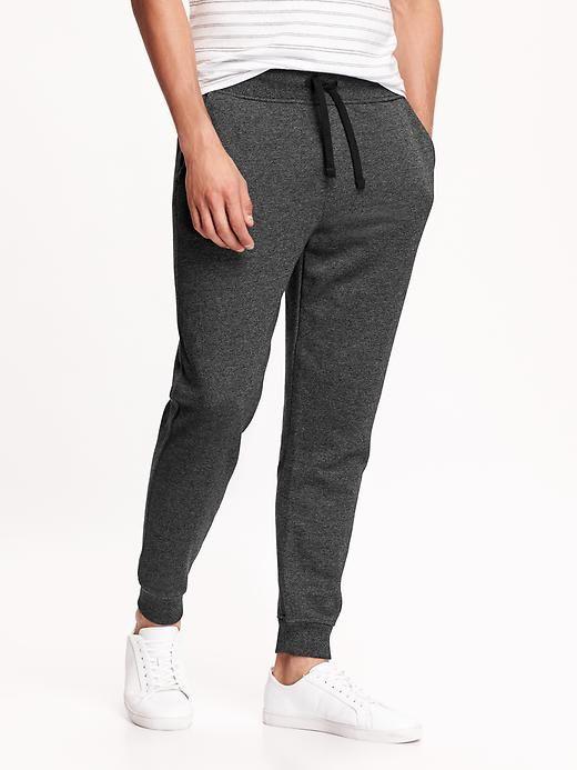 Tapered-Drawstring Sweatpants